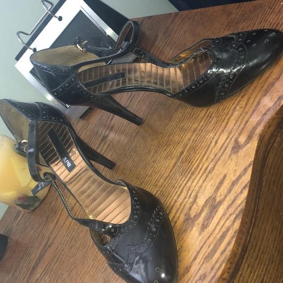 Enzo Angiolini Shoes - Enzo Angiolini T strap heels